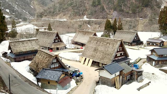 菅沼合掌造り集落の風景