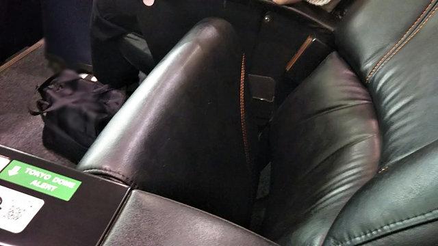 東京ドームの椅子
